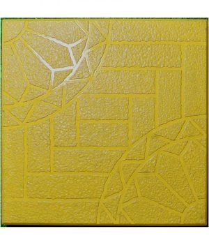 Šaligatvio plytelės Parketas 40x40 geltonas