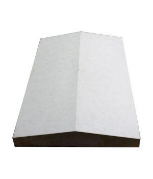 Tvoros stogelis sienai 390x270x55 pilkas lygus