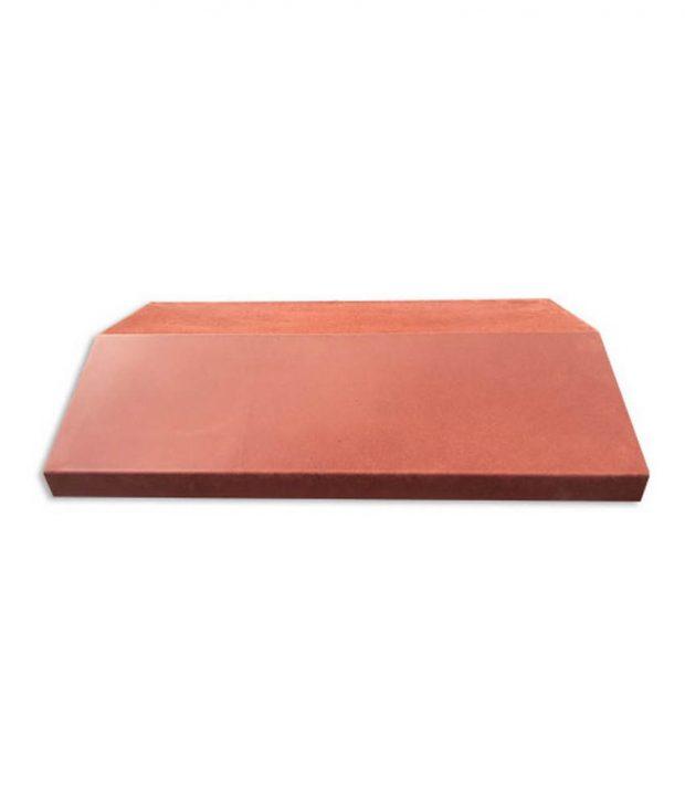 Tvoros stogelis sienai 390x270x55 lygus raudonas 1
