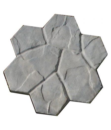 Akmeninė gėlė pilka