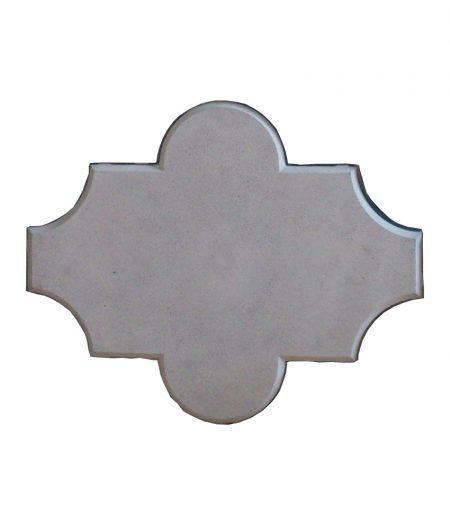 Grindinio trinkelės Dobiliukas 45mm pilka