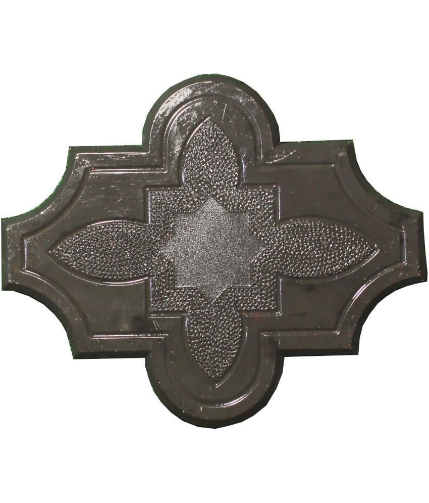 Dobiliukas su ornamentu juodas