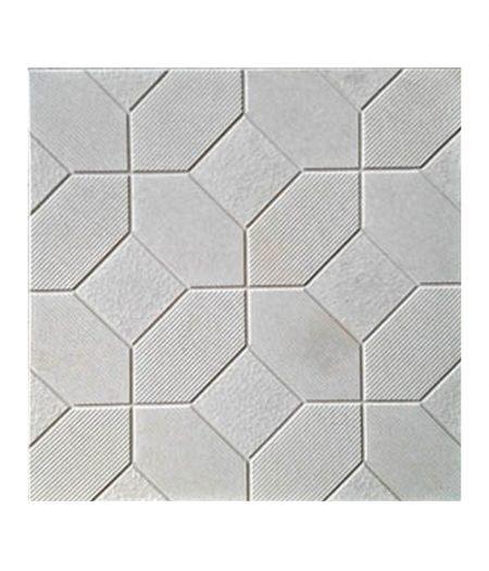 Rifliuota 50x50 pilka