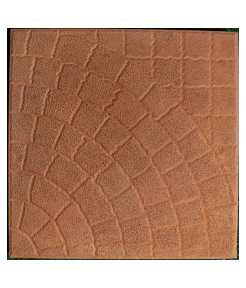 Granitas 40x40 oranžinė