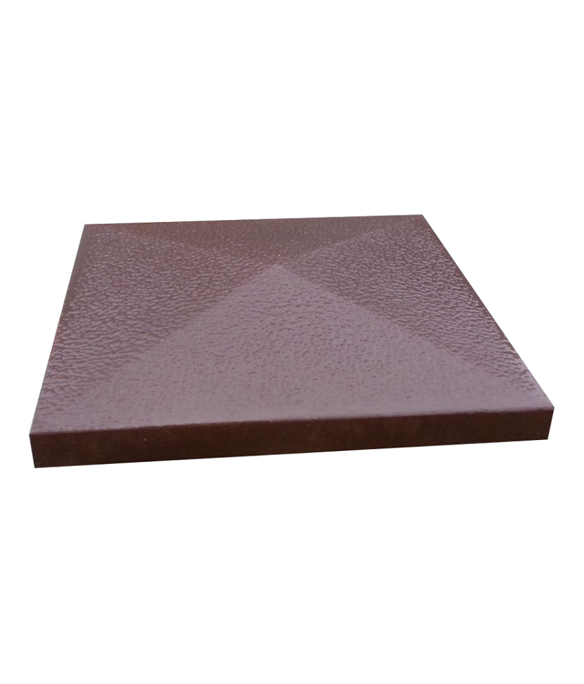 Tvoros kepurė 390x390x65 ruda ruplėta