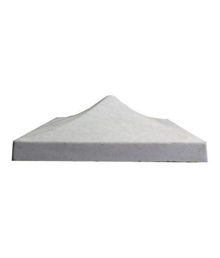 Tvoros kepurė smaili 450x450x155 pilka 1