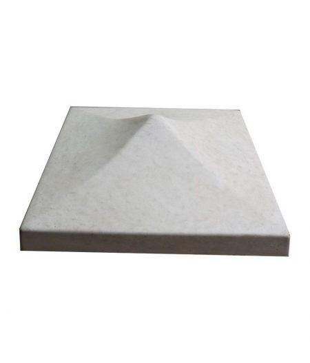 Tvoros kepurė smaili 450x450x155 pilka
