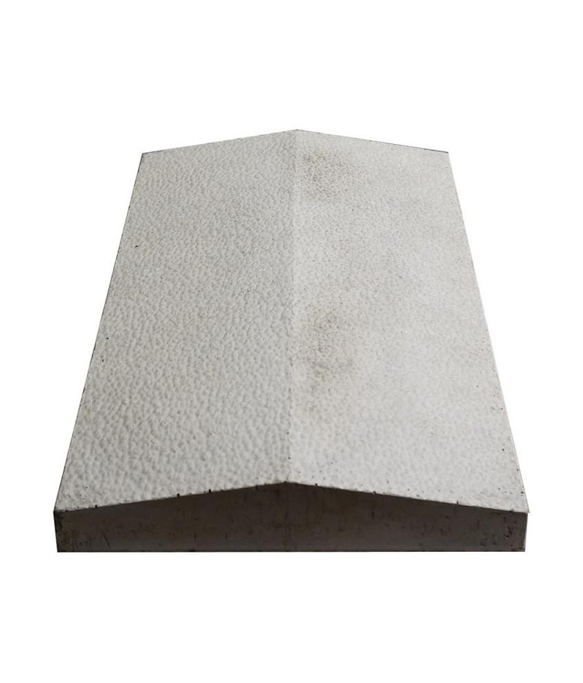Tvoros stogelis sienai 390x270x55 pilkas ruplėtas