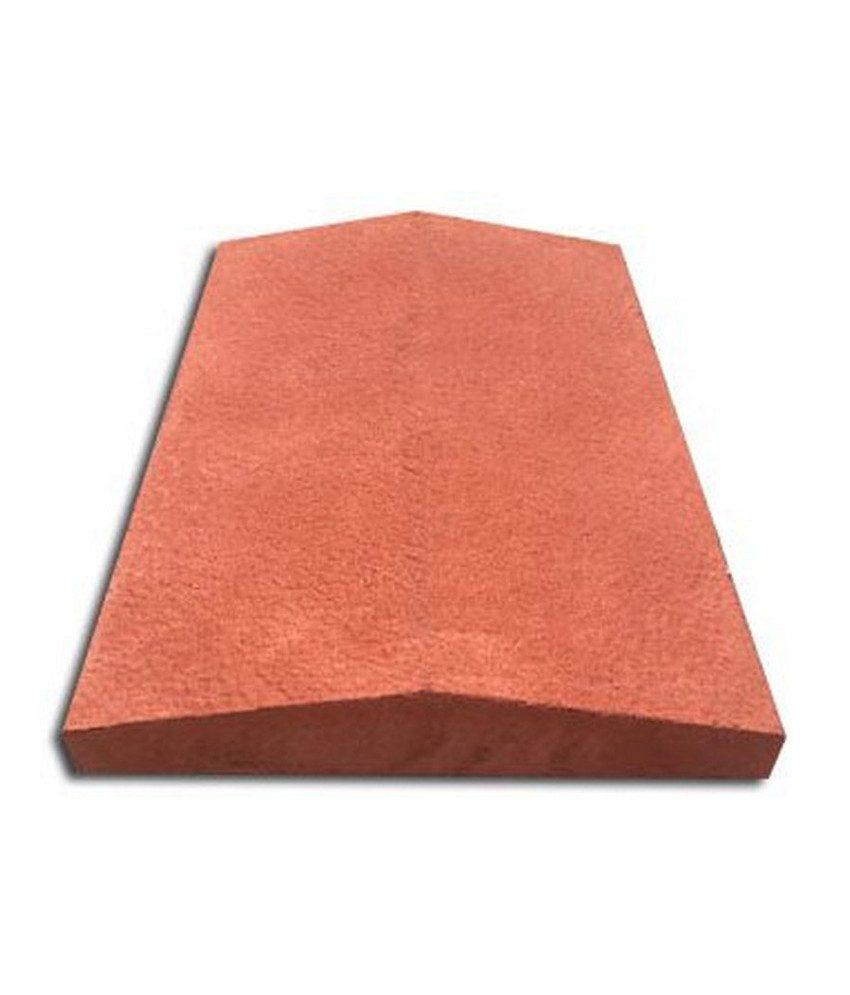 Tvoros stogelis sienai 390x270x55 raudona ruplėtas