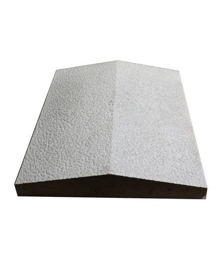 Tvoros stogelis sienai 390x350x55 pilkas rupletas