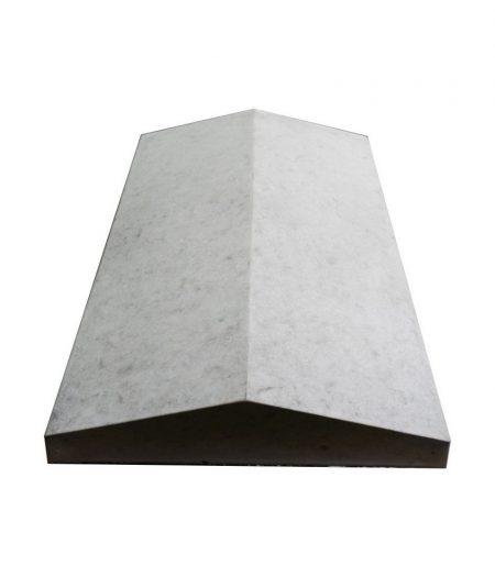 Tvoros stogelis sienai 490x305x55 pilkas