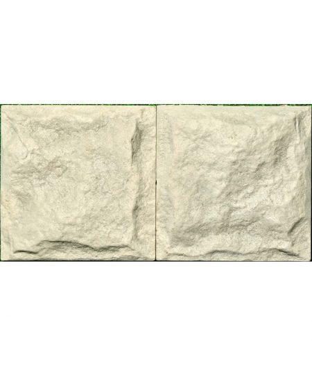 Fasadines plyteles Akmuo 125x125 pilkos 2 vnt pilkos