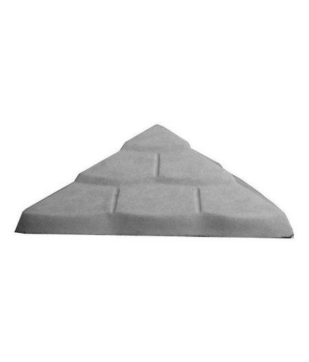 Tvoros kepurė Čerpė 450x450x170 pilka 1