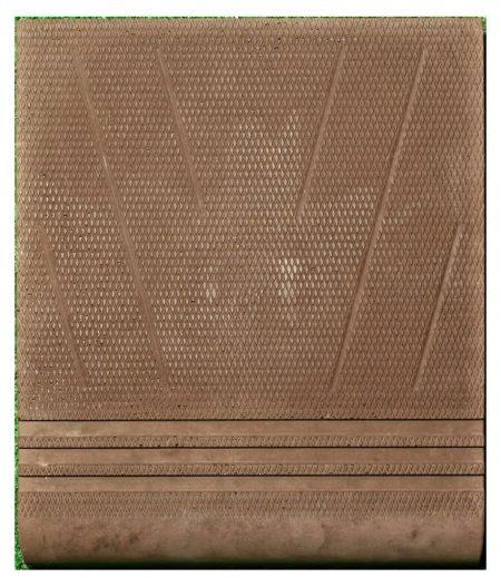laiptų plytelė Nr.1 pakopa ruda