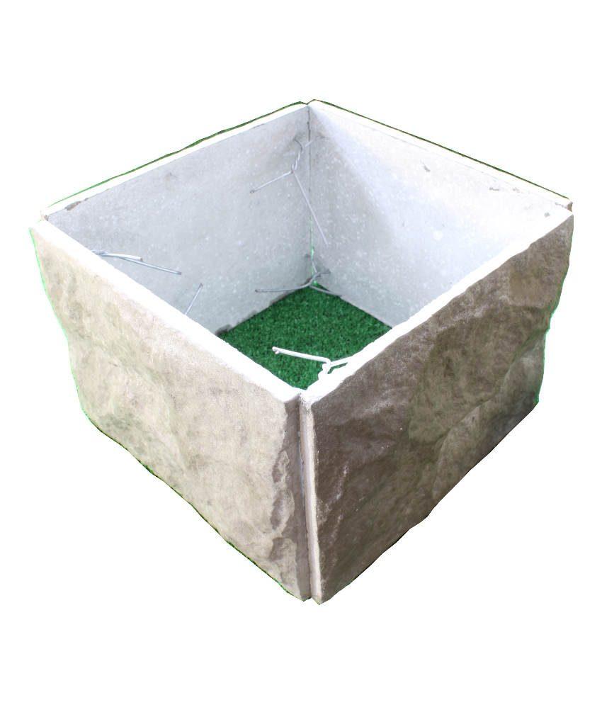Tvorų blokelis 267×267 pilkas
