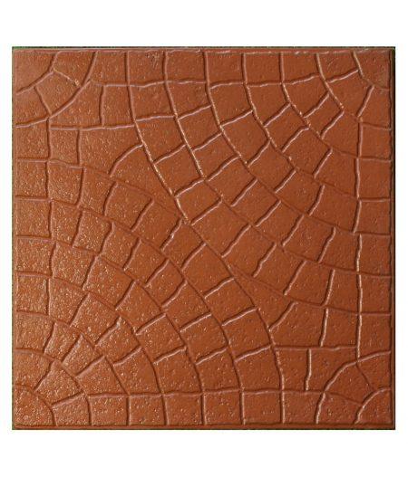 Granitas 30x30 raudona