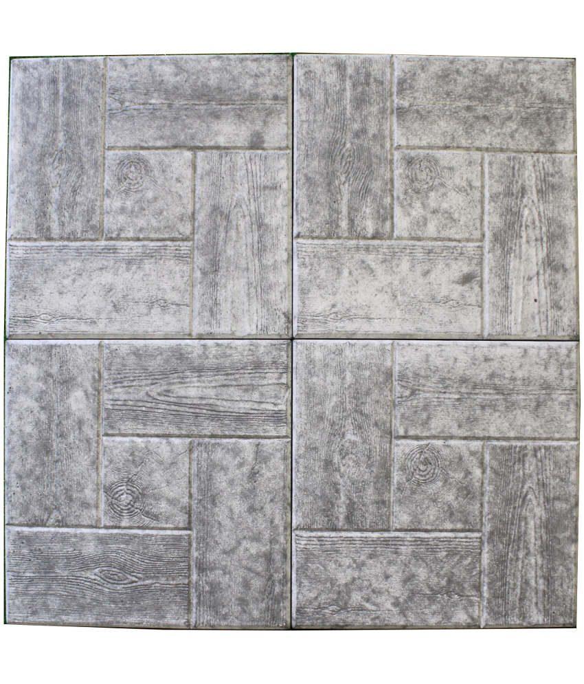 Medinė trinkelė 30x30 pilka4